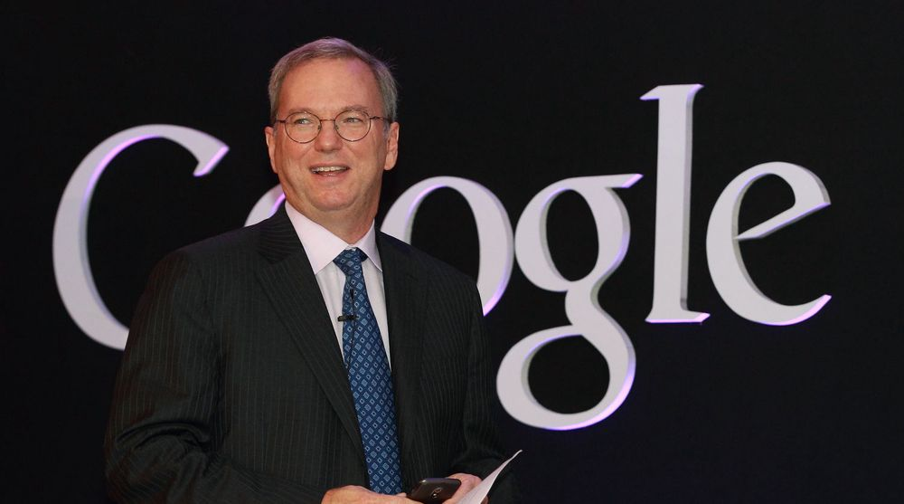 Styreleder i Google, Eric Schmidt, har opplevd googling i Pyongyang.