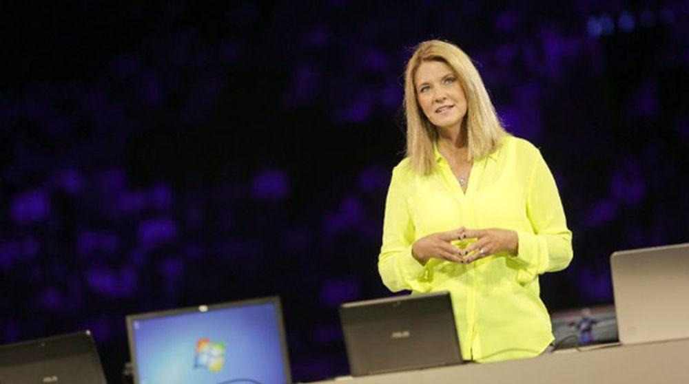 Microsofts Tami Reller, her fotografert ved en annen anledning.