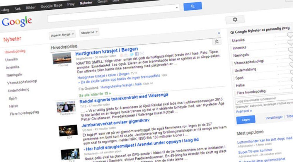 Googles indeksering av nyheter har utløst et tøvete krav om betaling for lenker, mener digi.nos journalist.