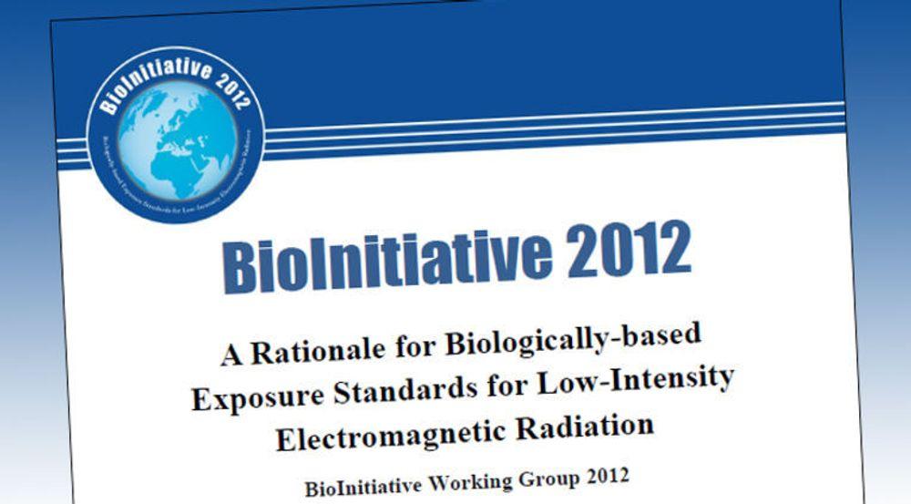 BioInitiatve 2012 er oppdatert med 1800 nye forskningsartikler om hvordan elektromagnetisk stråling påvirker kroppen.
