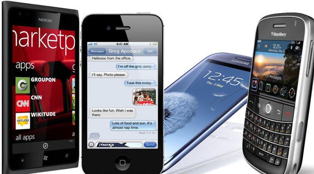 Smarttelefonene har oppsiktsvekkende svake antenner - og dess nyere telefoner dess svakere er de, viser ny dansk forskning.