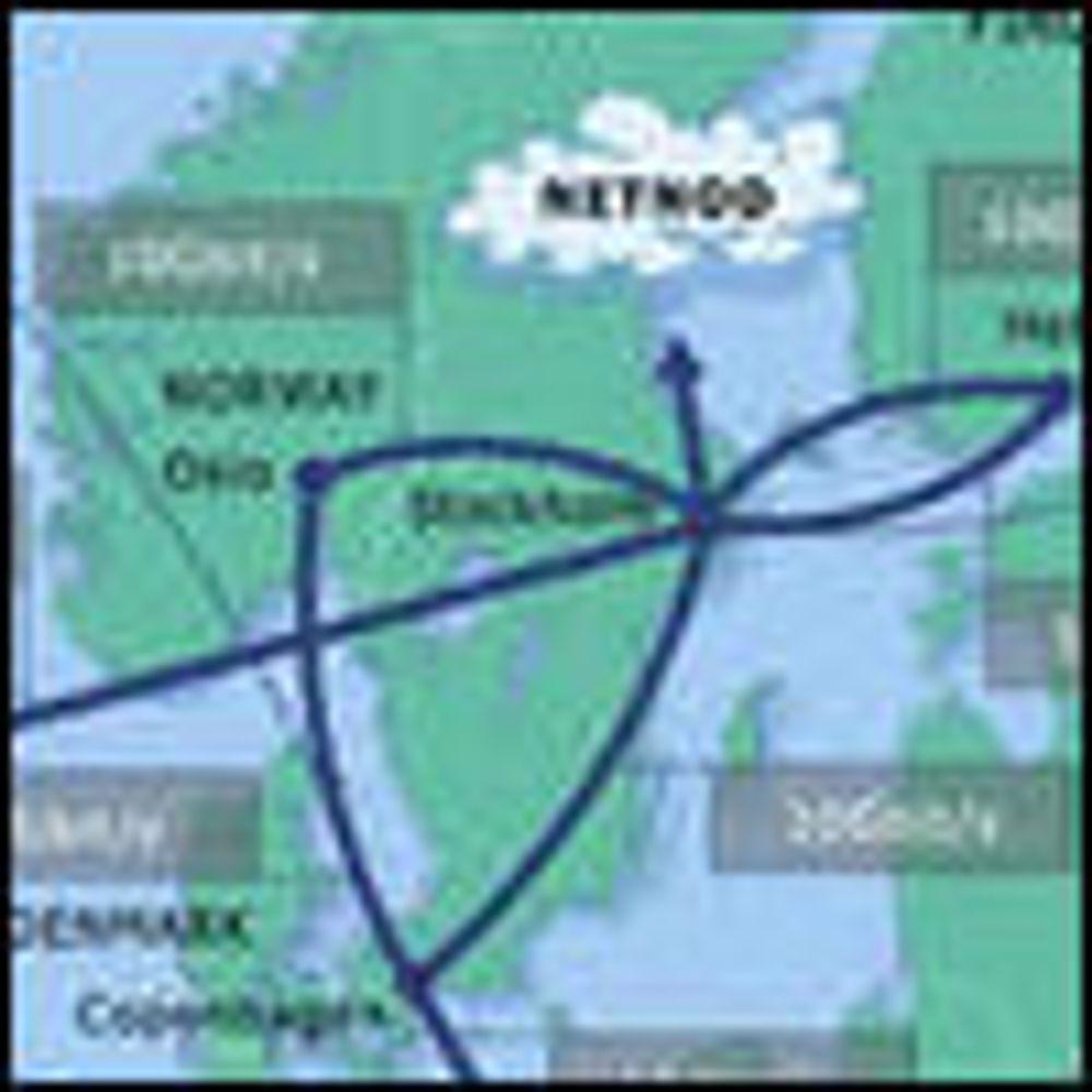 Uninett slet med utenlandstrafikken