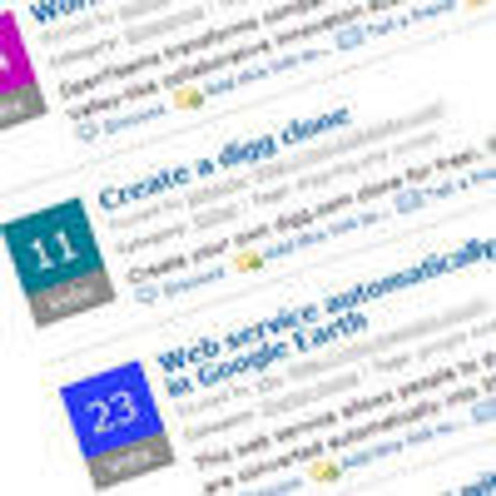 Intel leter etter neste «Google» i Web 2.0