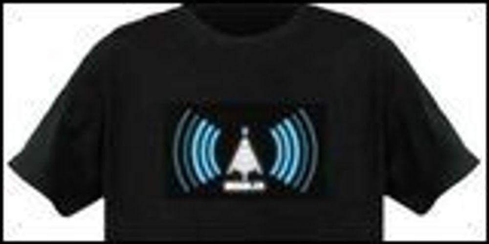 Finn WLAN-soner med t-skjorten