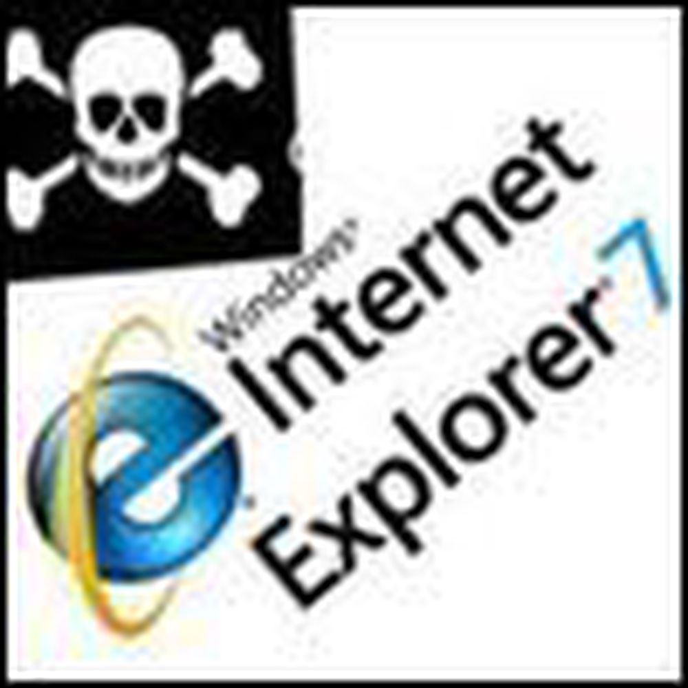 Internet Explorer 7 nå også for pirater