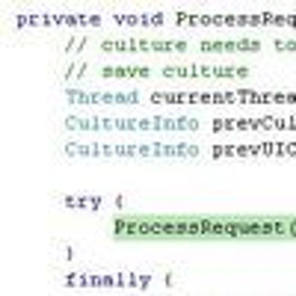 Microsoft lover å slippe kildekoden til .Net