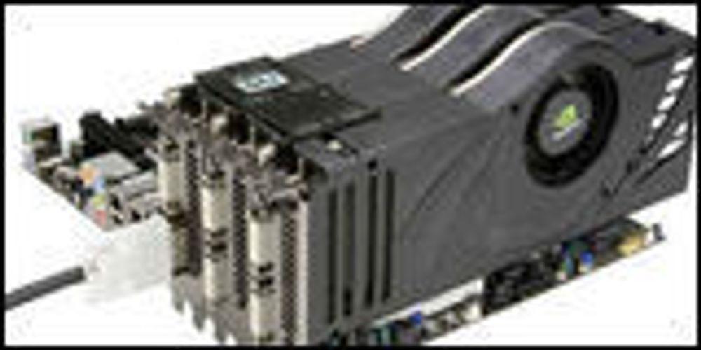 Nvidia åpner for treveis SLI