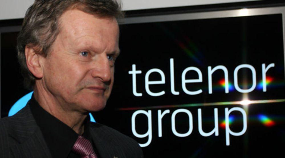 Telenors India-satsing er trolig over hvis det blir en åpen lisensauksjon. Da kan det bli for dyrt å henge med i budrunden, ifølge konsernsjef Jon Fredrik Baksaas.