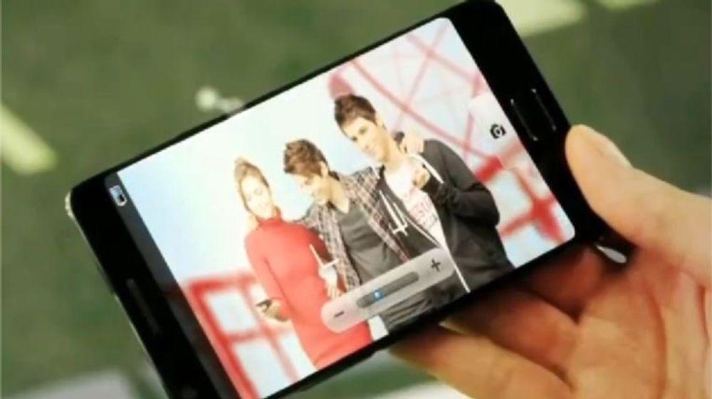 Mulig Samsung Galaxy S3 i offisiell video fra Samsung som kom i forbindelse med CES-messen i januar.