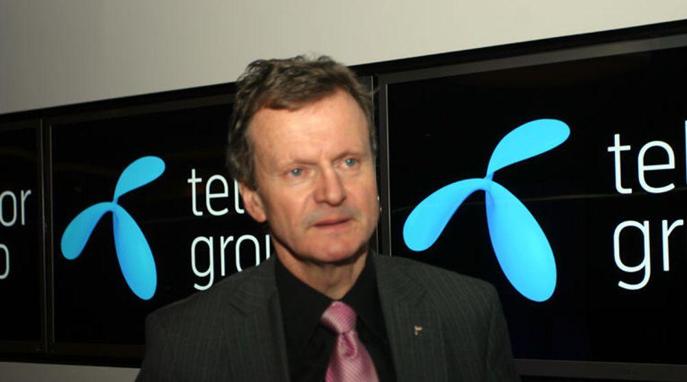 Konsernsjef Jon Fredrik Baksaas framstår som optimistisk, trass i krisen i det indiske datterselskapet Uninor.