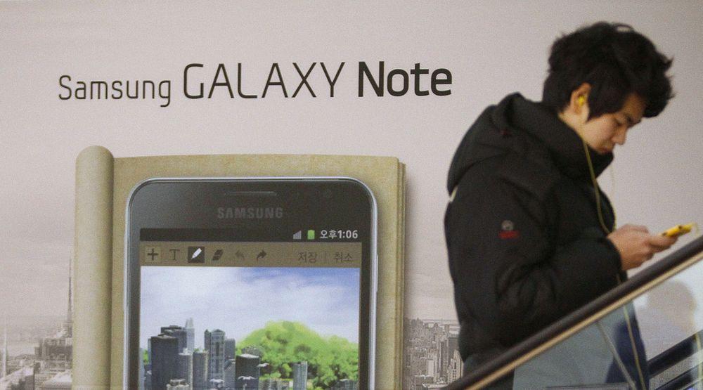 Samsung var sammen med Apple den store vinneren i markedet for smarttelefoner i 2011. Den sørkoreanske produsenten kunne notere seg en vekst på 310 prosent i leverte enheter for året som helhet.