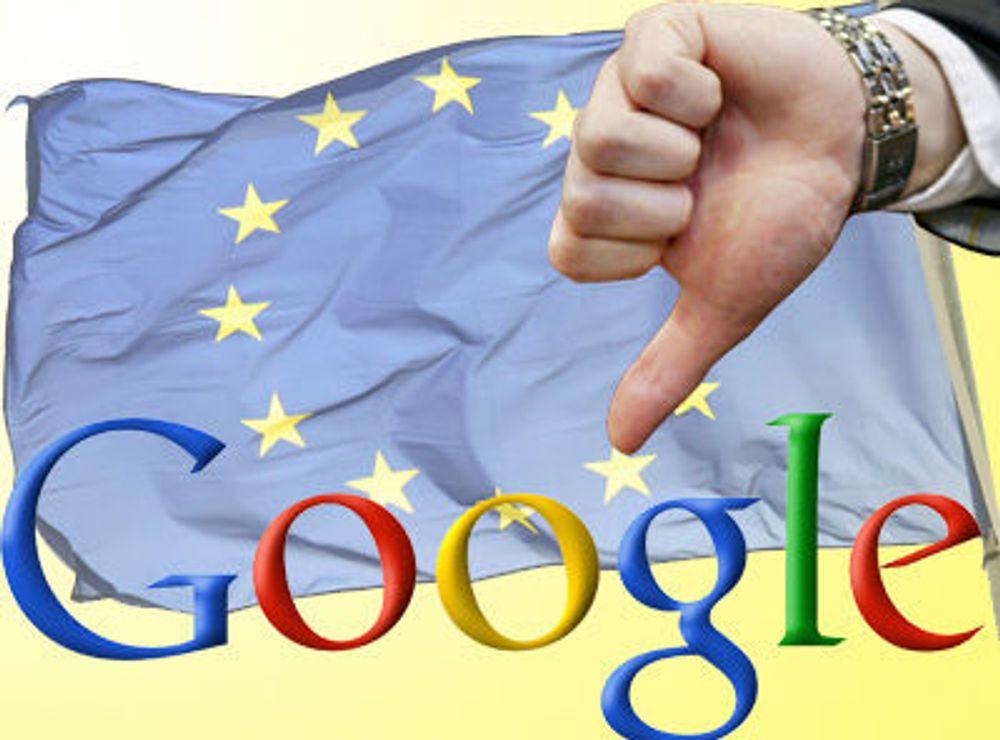 Google avviser krav fra EU