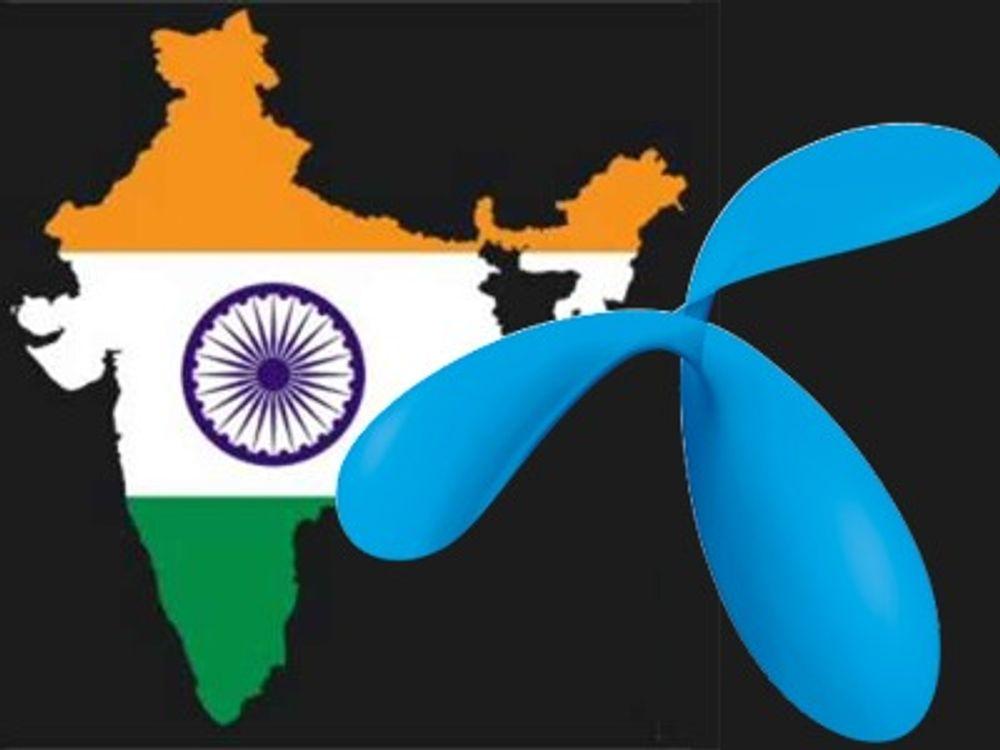 Ber Giske ligge unna Telenor i India