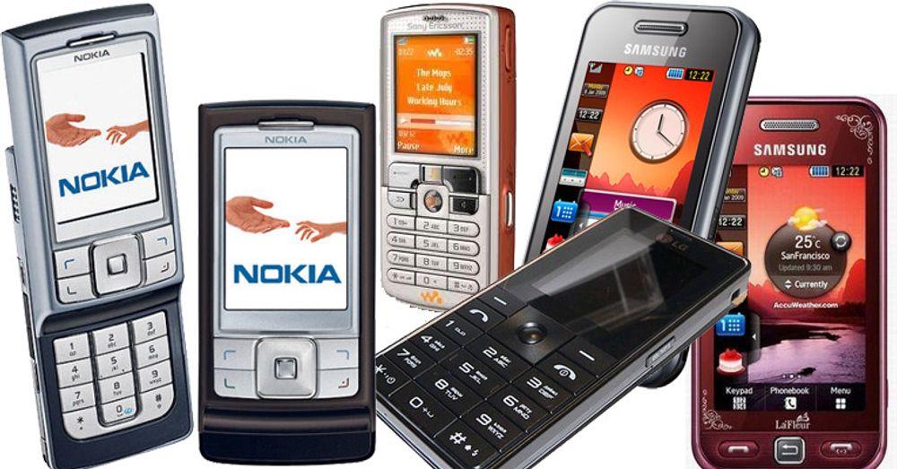 Nokia fortsatt ubestridt leder
