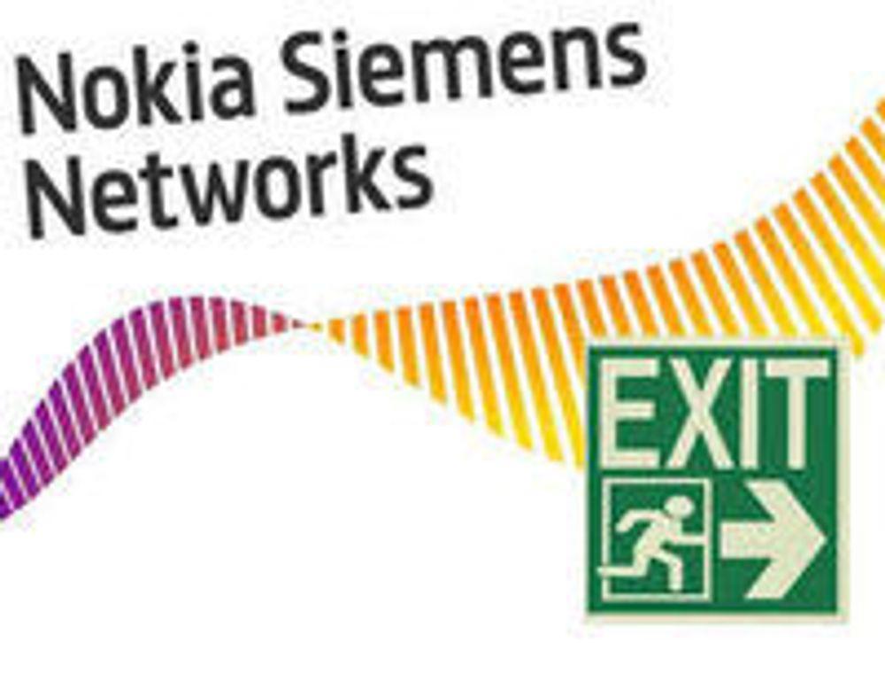 Tusener må gå i Nokia Siemens