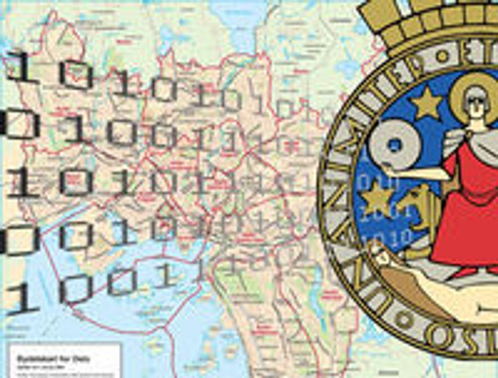 Ber Oslo gi bort digitale kart