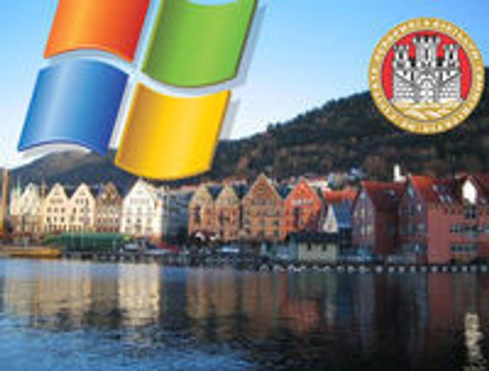 Friprog sviktet Bergen