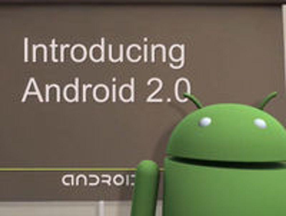 Google avduker Android 2.0