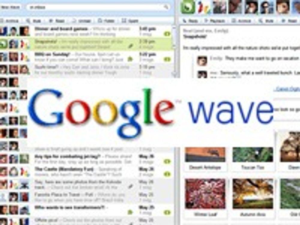 Millioner i kø  for å få Google Wave-tilgang