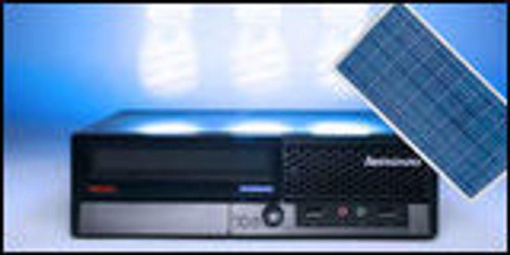 Billig Lenovo-PC kan drives av solen