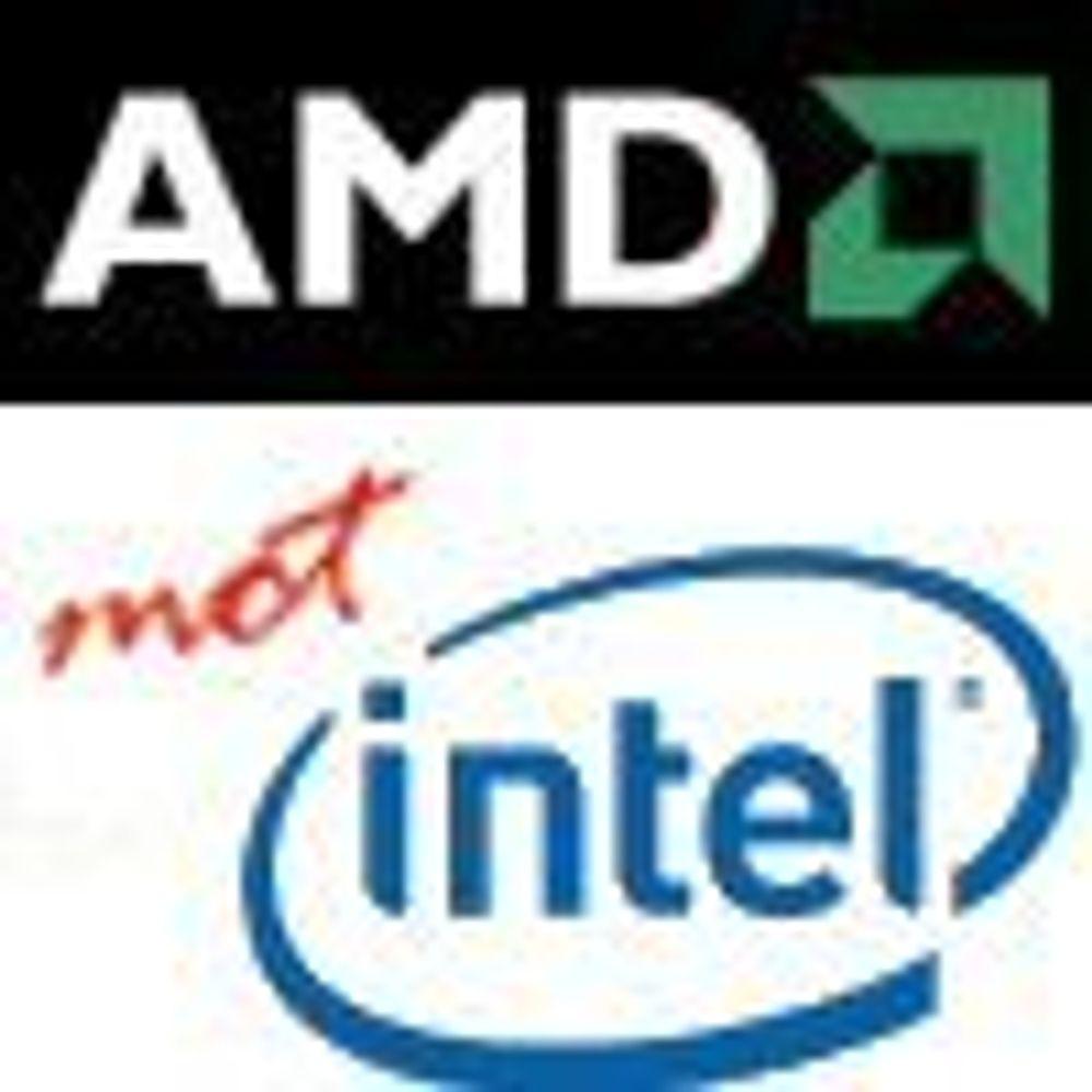 AMD tar på nytt markedsandeler fra Intel