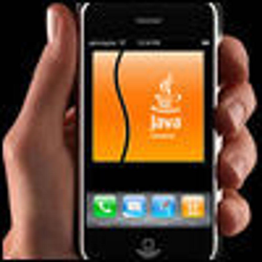 Skal tilby Java-støtte til iPhone
