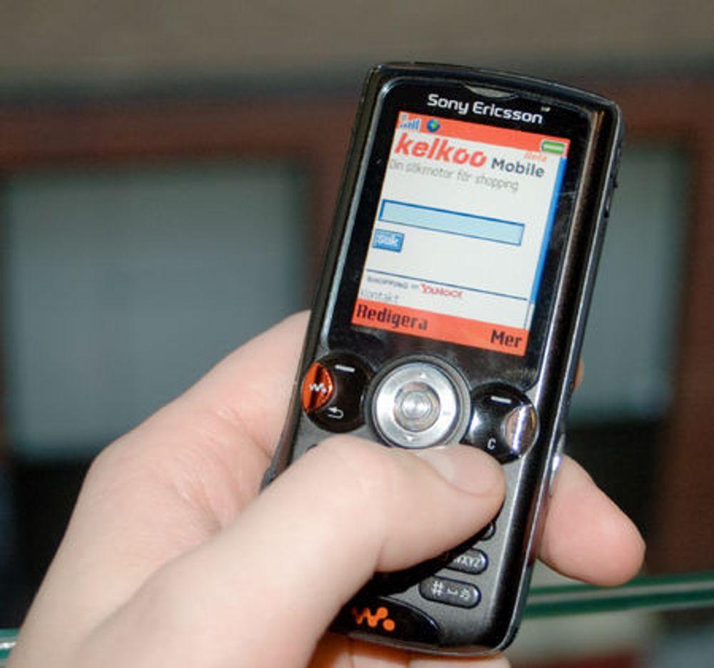 Mobiltelefonen finner de beste prisene