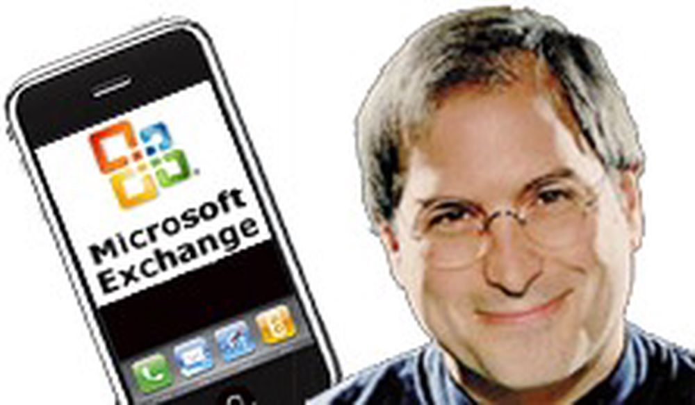 iPhone får støtte for Microsofts e-post