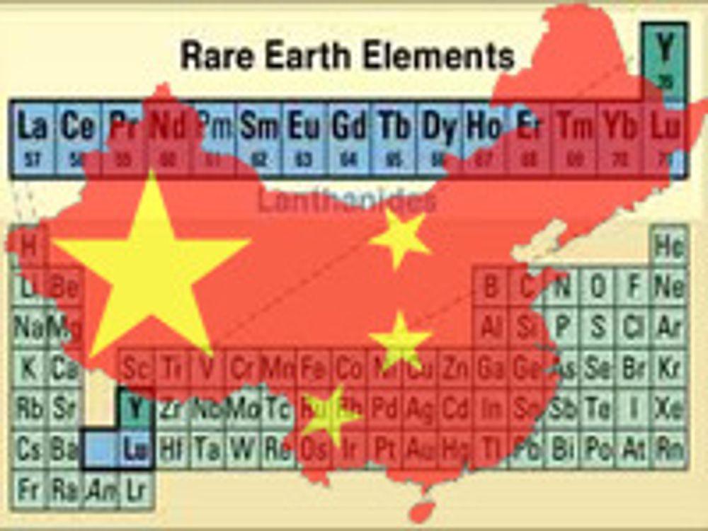 Kina kutter igjen på eksport av jordmetaller