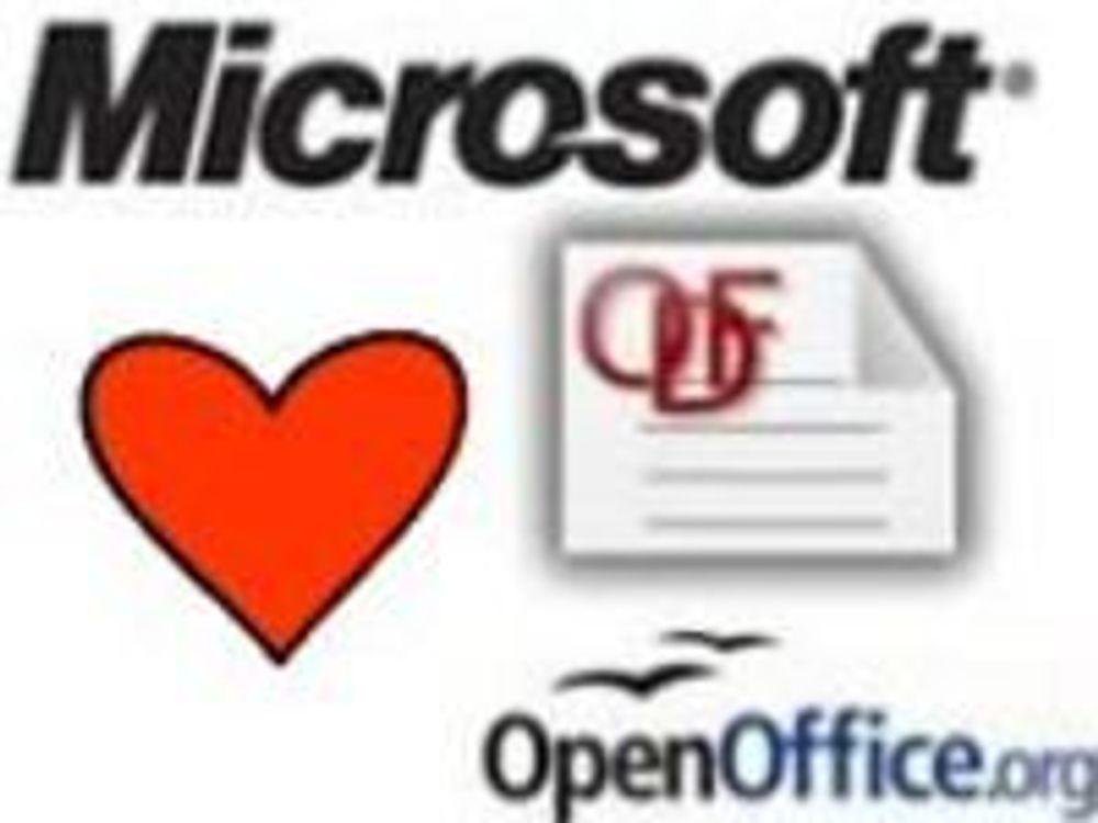 Slik skal Office støtte ODF