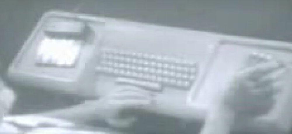 Douglas Engelbart holdt det som for ettertiden har blitt kjent som «The mother of all demos».
