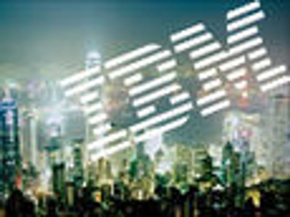 IBM-aksjen spretter oppover