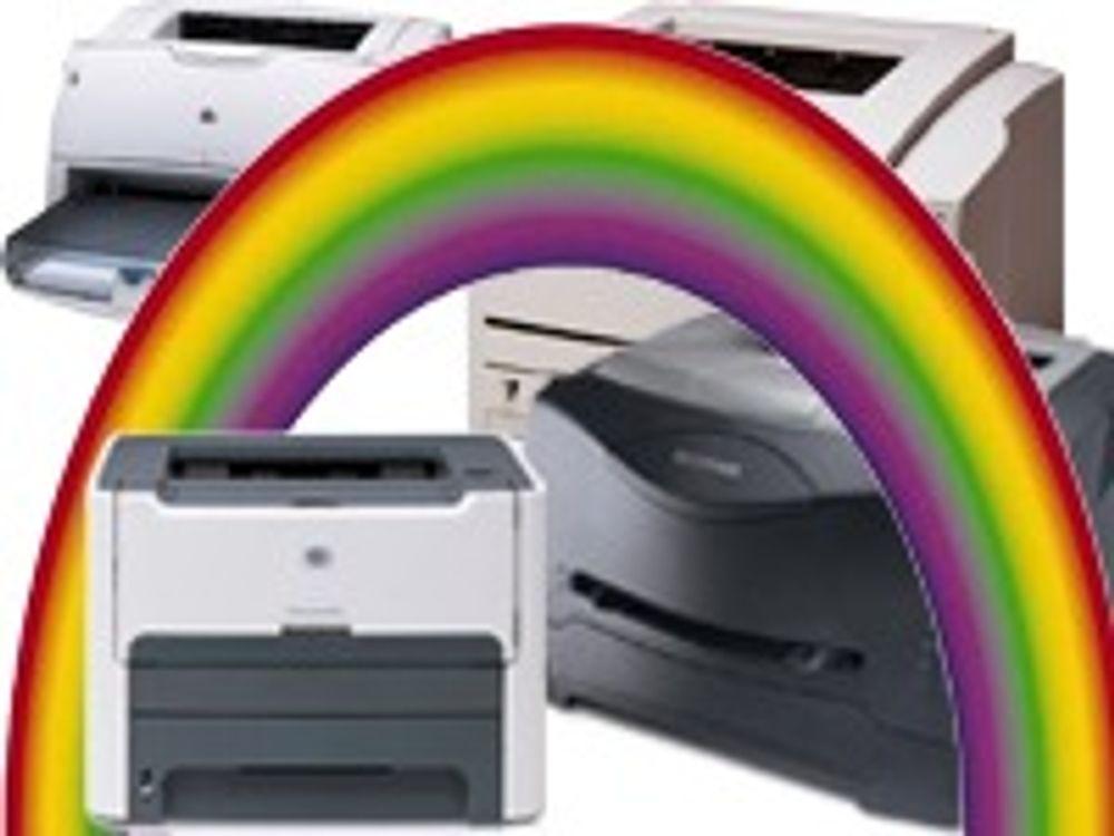 Utviklet åpen «regnbue» for fylkets skrivere