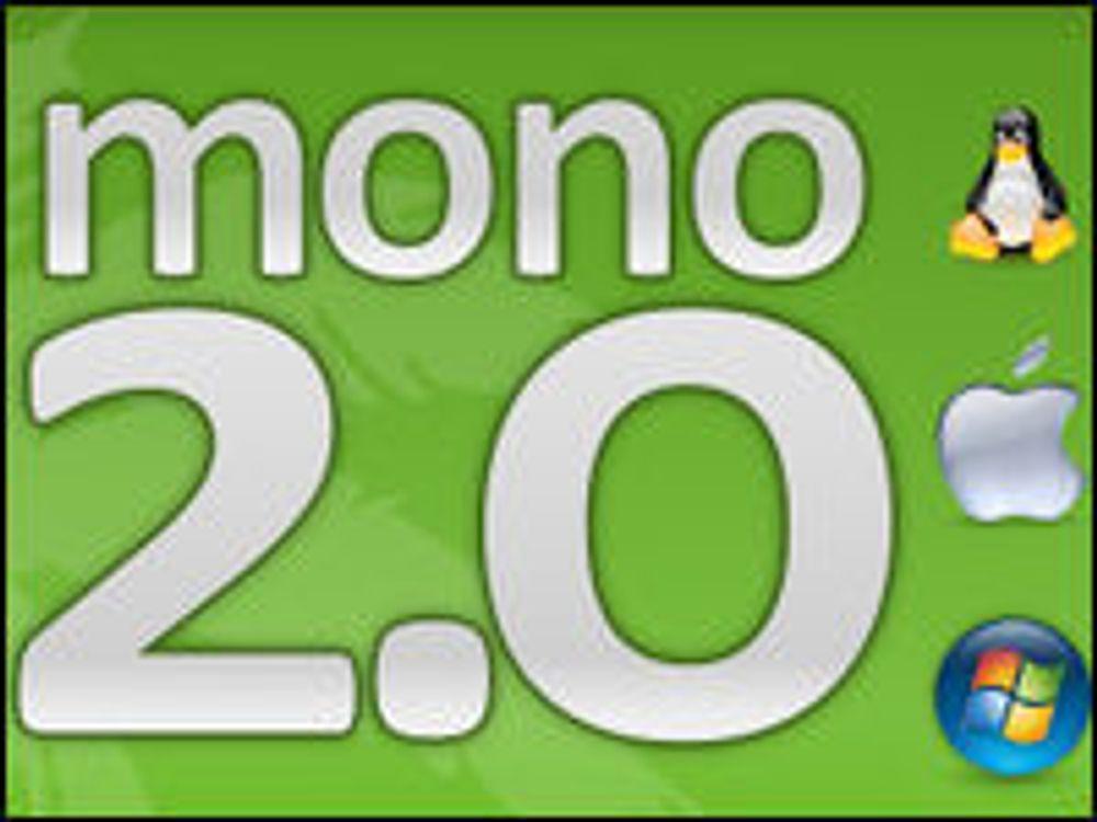 Mono i mål med utvidet .NET for Linux