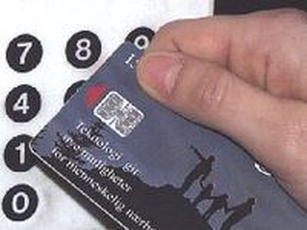 Norge seint ute med smartkort