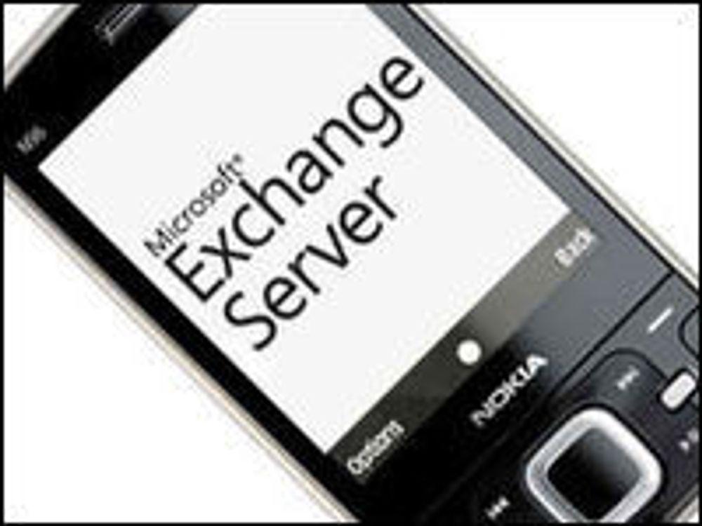 Nokia-mobiler får Exchange-støtte