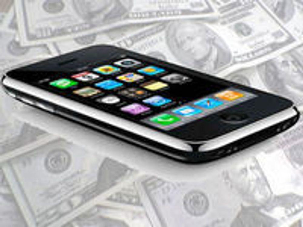 Apple falt ut av smartmobil-toppen