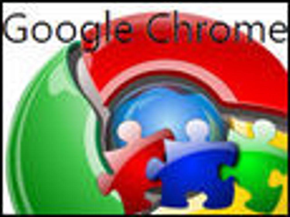 Chrome skal støtte brukerskapte utvidelser