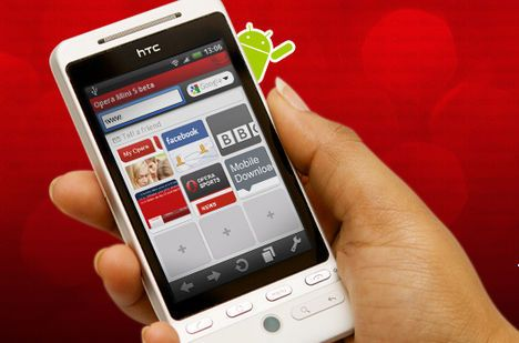 Opera Mini er klar for Android