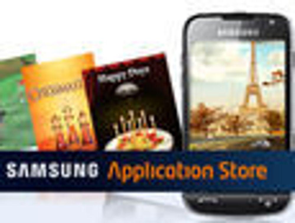 Samsung åpner egen «app store»