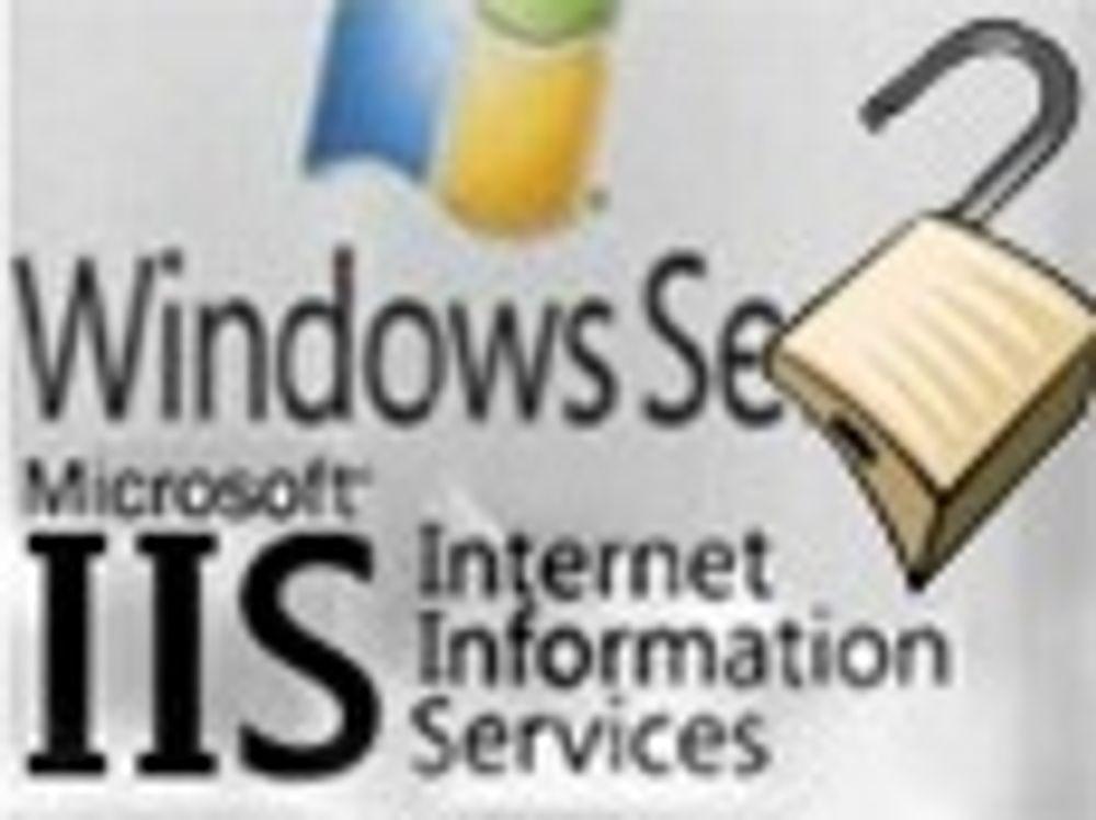 Har offentliggjort angrepskode mot IIS