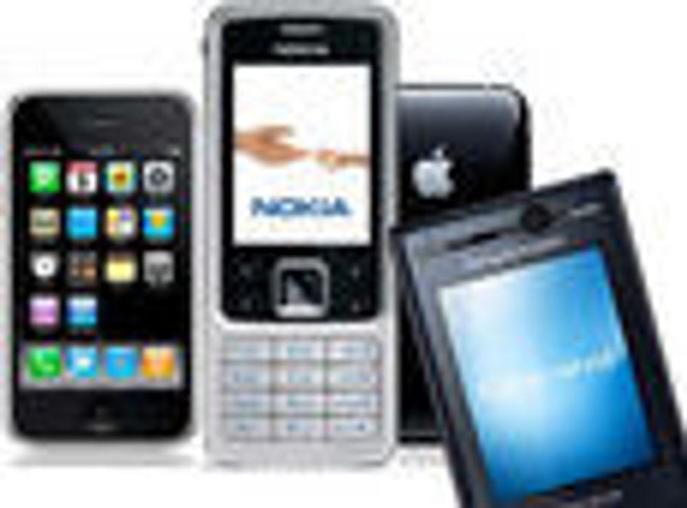 Her er landets mest brukte mobil-modeller