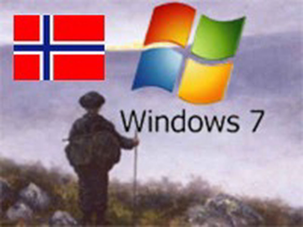 Last ned språkpakker til  Windows 7