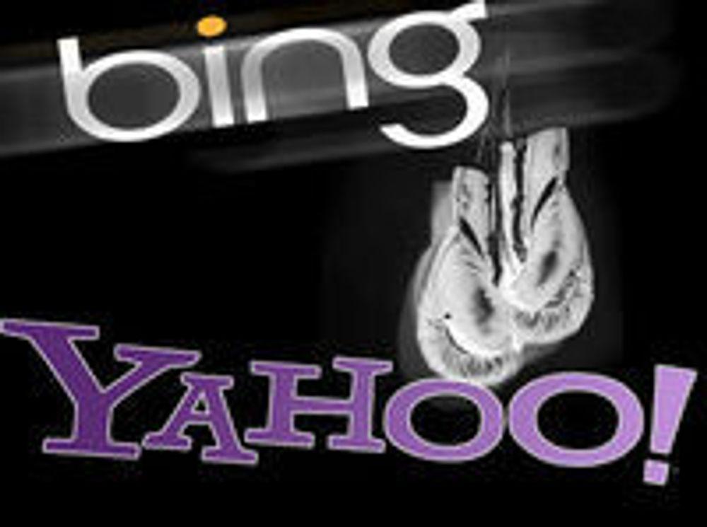 Yahoo skal kjempe mot Bing