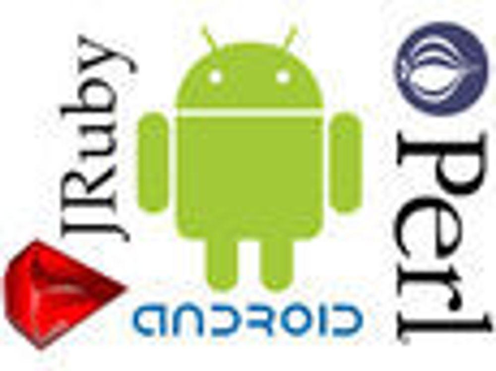 Sørger for Perl- og Ruby-støtte til Android