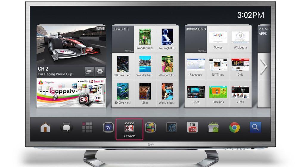 LG er tidlig ute med å vise fram et kommende produkt basert på Google TV.