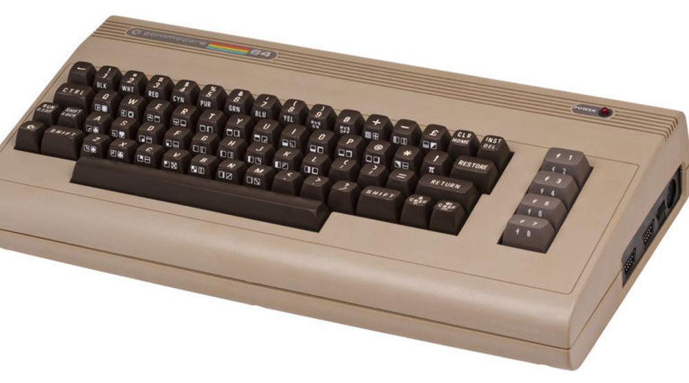 Suksessdatamaskinen Commodore 64, som fortsatt får mange hjerter til å banke litt fortere.