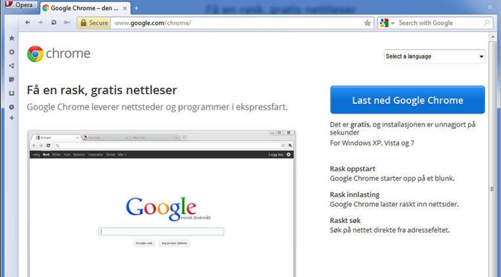 Det er denne siden Google nå har senket PageRank-verdien til.
