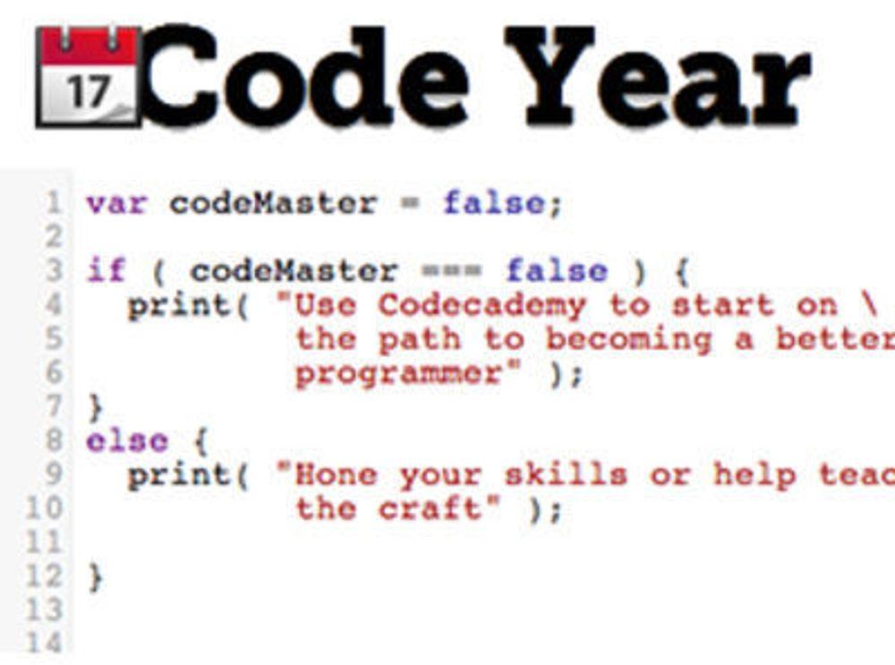 Mange vil lære å programmere