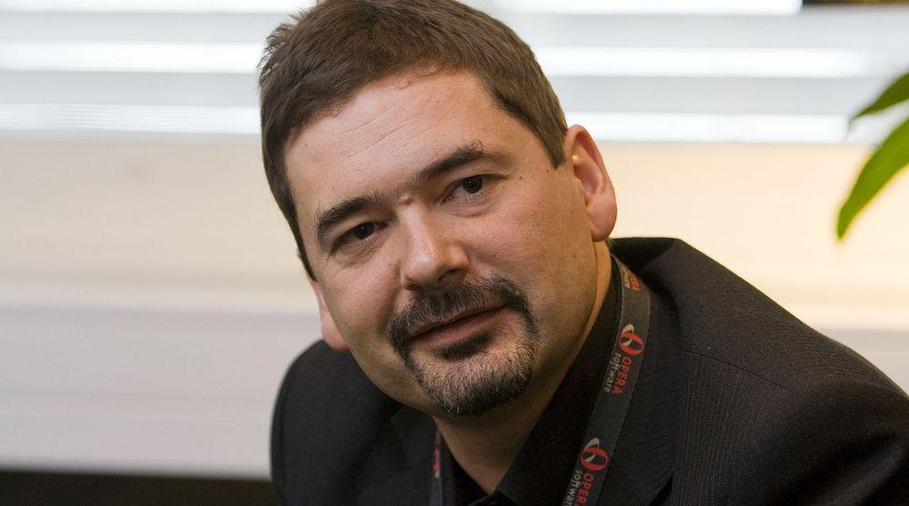 Jon S. von Tetzchner grunnla Opera Software i 1995, sammen med nå avdøde Geir Ivarshøy.